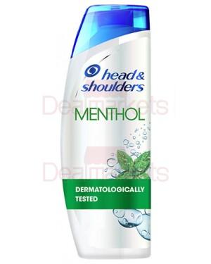 Head & shoulders menthol fresh fresh σαμπουάν 360ml (ελλ.)