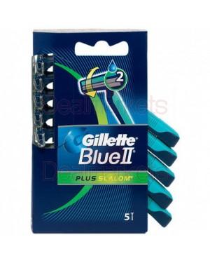 Gillette ξυρ. μηχανη blue2 plus slalom σετ 5τεμ