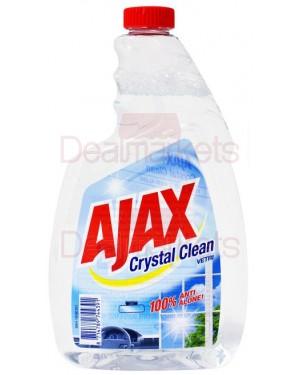 Ajax crystal τζαμιών αντ/κο 750ml (εισ.)