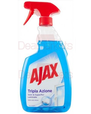 Ajax μπλε τζαμιών με αντλία 750ml (εισ.)