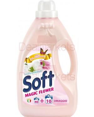 Soft μαλακτικό ρούχων 3l flower (εισ.)