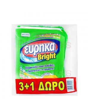 Υπερενισχυτικό πλύσης Εύρηκα brigt φάκελος 4x60gr (3+1ΔΩΡΟ)