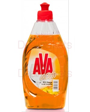 Ava υγρό πιάτων regular grape 425ml (εισ.)