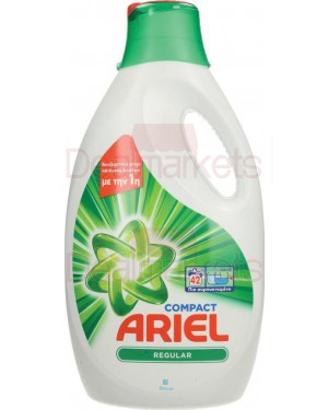 Ariel regular υγρό πλυντηρίου 42μεζ 2310ml ελλ.