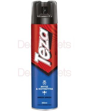 Teza εντομοκτόνο για μύγες/κουνούπια σε σπρέι 300ml