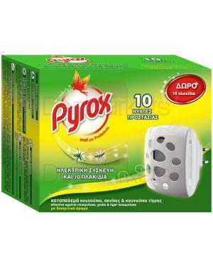Pyrox συσκευή για ταμπλέτες & 10 ταμπλέτες δώρο