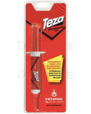 Teza gel κατσαριδοκτόνο σε σύριγγα 10gr
