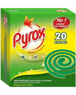 Pyrox εντομοκτόνο σε σπείρες 20τεμ