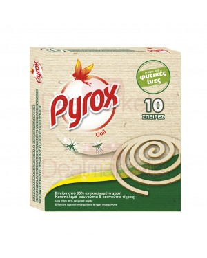 Pyrox fix coil 10τεμ r20 από φυτικές ίνες