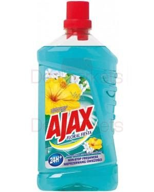 Ajax 1l υγρό πατώματος green lagoon flowers