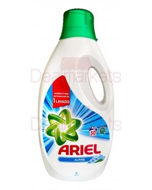 Ariel υγρό πλυντηρίου alpine 2,750l 50 μεζούρες