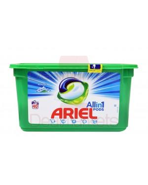 Ariel Υγρές κάψουλες πλυντηρίου ρούχων 3 σε 1 Alpine 40μεζ (Ελλ.)