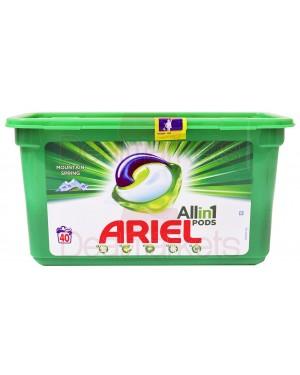 Ariel υγρές κάψουλες πλυντηρίου ρούχων 3 σε 1 regular 40μ (ελλ.)
