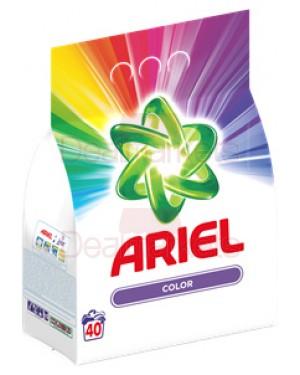 Ariel σκόνη πλυντηρίου color 40 μεζ 3kg