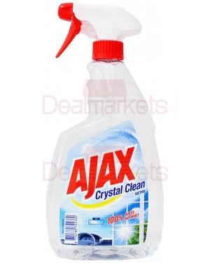 Ajax crystal τζαμιών me αντλία 750ml
