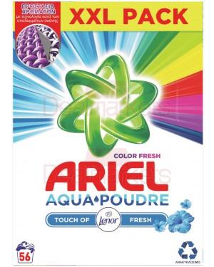 Ariel σκόνη πλυντηρίου total color 56μζ (ελλ.)