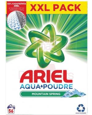 Ariel σκόνη πλυντηρίου mountain 56μζ (ελλ.)