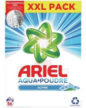 Ariel σκόνη πλυντηρίου alpine 56μζ (ελλ.)