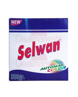 Selwan σκόνη πλυντηρίου με αποσκληρυντικό 300gr κουτί