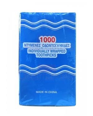 Οδοντογλυφίδα 1000 τεμ 1\1 συσκευασμένη