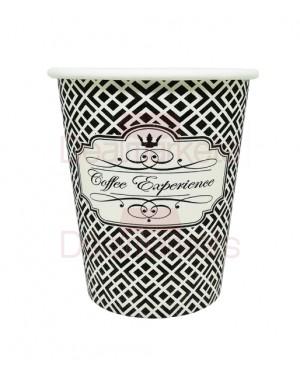 Ποτήρια χάρτινα 4οζ ''coffee experience'' 50 τεμ