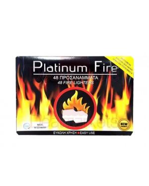 Προσάναμα κύβου Platinum Fire 48τεμ