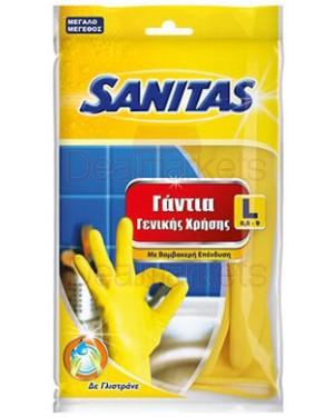 Sanitas γάντια γενικής χρήσης large