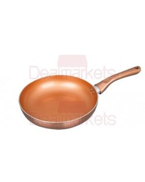 Τηγάνι κεραμικό Keystone Copper επαγωγικό Νο26