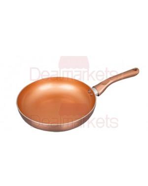 Τηγάνι κεραμικό Keystone Copper επαγωγικό Νο28
