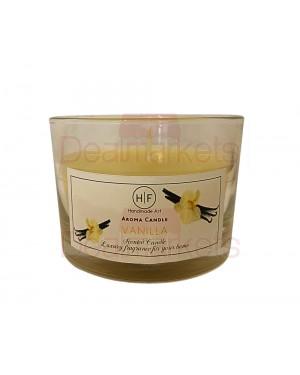 Hf κερί σε χαμηλό ποτ. άρωμα βανίλια 30 ωρών (120gr) 20,5cl ελλ.