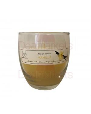 Hf κερί σε ψηλό ποτ. άρωμα βανίλια 30 ωρών (120gr) 24,5cl ελλ.