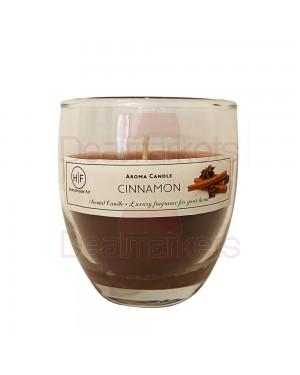 Hf κερί σε ψηλό ποτ. άρωμα κανέλα 30 ωρών (120gr) 24,5cl ελλ.