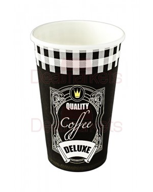 Ποτήρια χάρτινα 16οζ ''coffee supreme'' 50 tem