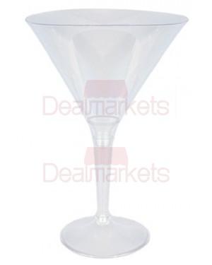 Ποτήρι κρύσταλ μαρτίνι 6 τεμ