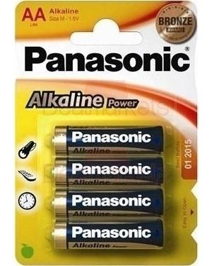 Panasonic bronze αλκαλική μπαταρία αα (4τεμ)
