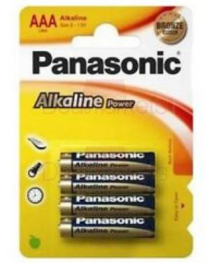 Panasonic bronze αλκαλική μπαταρία aa (4τεμ)