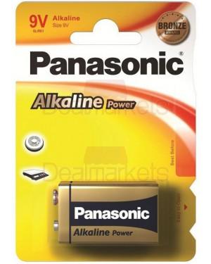 Panasonic bronze αλκαλική μπαταρία 9v