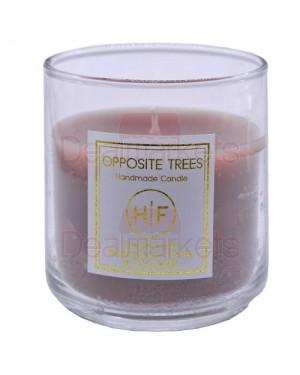 Αρωματικό κερί σε ψηλό ποτήρι 38 ωρών σοκολάτα (140gr) (ελλ.)