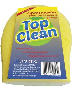 Top clean σφουγγάρι μπάνιου γάντι