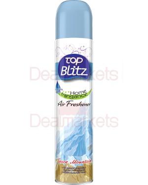 Top blitz αποσμητικό χώρου spice mountain 300ml