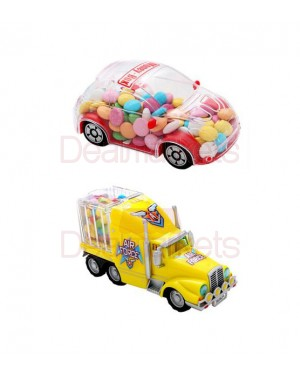 Woogie αυτοκίνητο κουμπαράς παιχνίδι με κουφετάκια 120gr