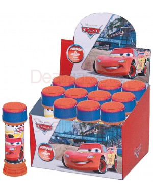 Disney cars παιχνίδι σαπουνόφουσκες 60ml display 12τεμάχια