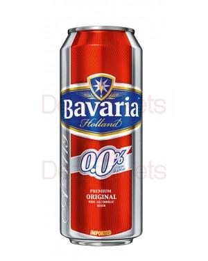 Bavaria μπύρα κουτί 0% 500ml