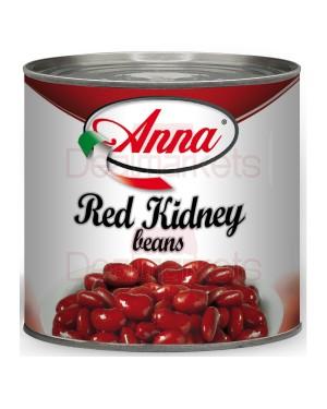 Anna κόκκινα φασόλια 2550gr