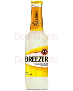 BACARDI Breezer λεμόνι 4% 275ml