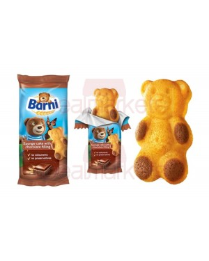 Κέικ μίνι Barni με γέμιση κρέμα σοκολάτας 30gr