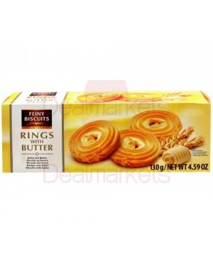 Μπισκότα βουτύρου Feiny rings 130gr