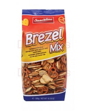 Crackers Snackline ανάμεικτο brezer 300gr