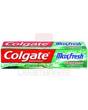 Colgate οδοντόκρεμα max fresh clean mint 100m