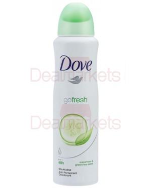 Dove go fresh αγγούρι αποσμητικό spray 150ml (ελλ.)